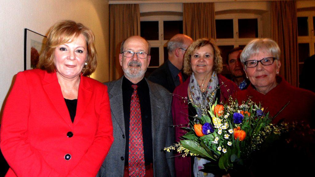 Birgit Wille, Klaus Greiner, Birte Johannesson, Antje Greiner